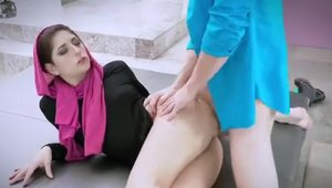 french young couple amateur